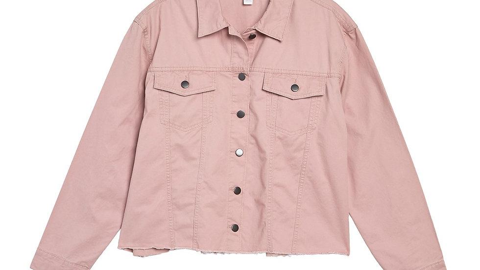Caslon - Fringe Twill Jacket NWT