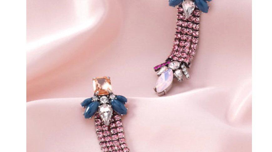 Stella & Dot Magnifique Earrings NIB