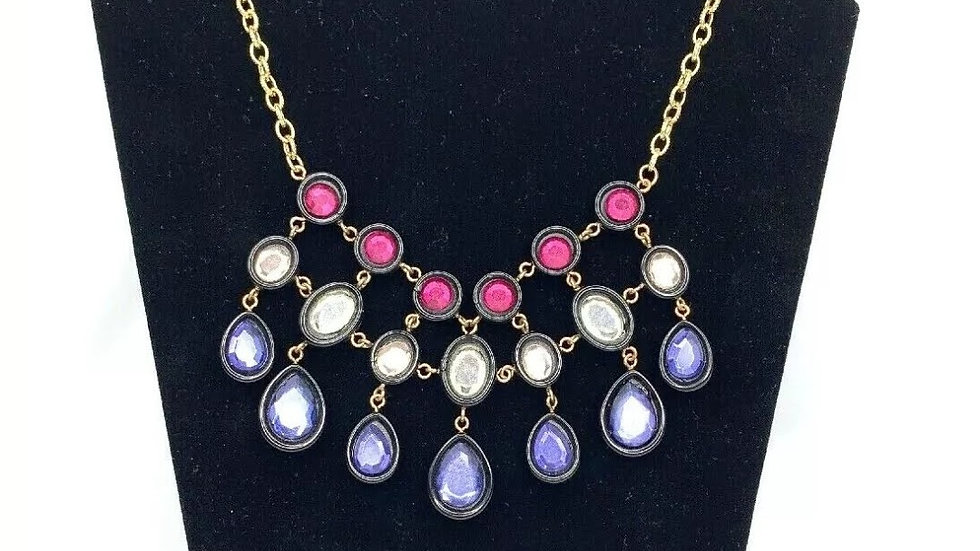 INC Multicolor Statement Fashion Necklace