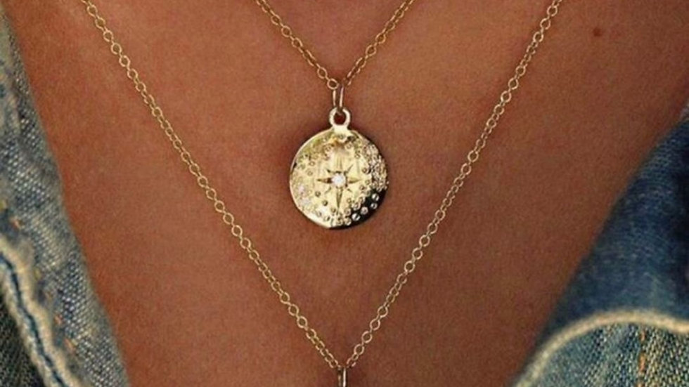 Orion's Belt Layered Necklace NWT