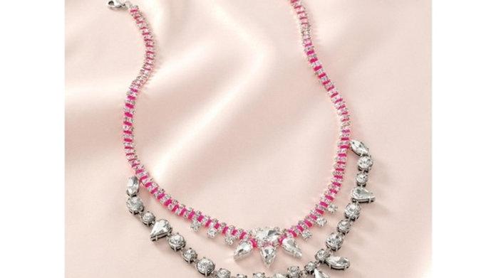 Stella & Dot Neon Dream Bib Necklace NIB