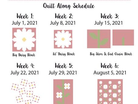 Daisy Chain Quilt Along - Post 2