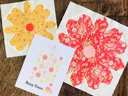 Daisy Chain Quilt Along Post 3: Week 1