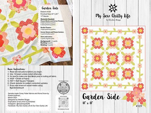Garden Side Quilt PDF Pattern