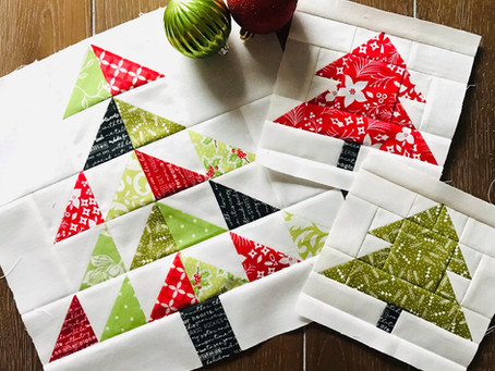 Christmas Tree Mix Quilt Along