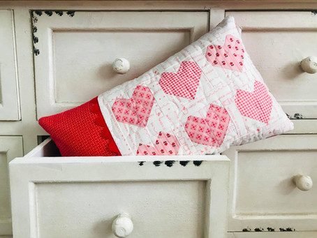 I Heart You Pillow - Free Pattern