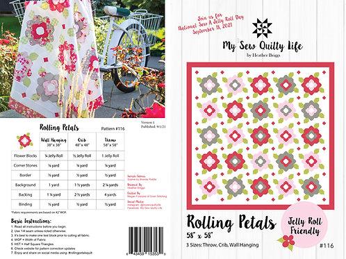Rolling Petals Quilt PDF Pattern