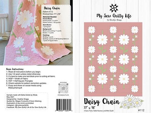 Daisy Chain Quilt PDF Pattern