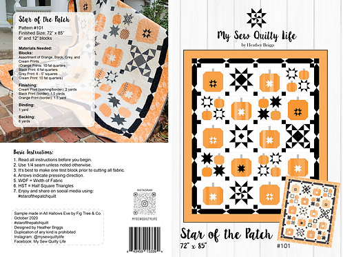 Star of the Patch PDF Quilt Pattern