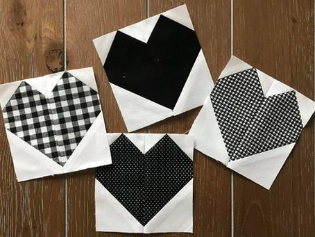 "Free Pattern: 4"" Finished Heart Block"