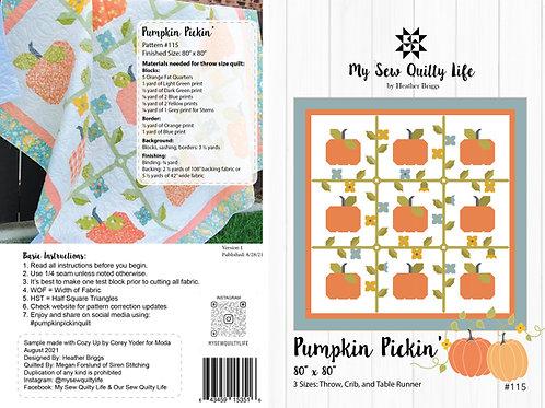 Pumpkin Pickin' PDF Pattern