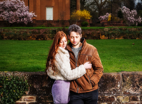 Himley Hall, Stafforshire, Pre-wedding shoot!