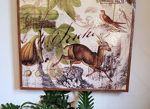 E. Lucas Deer Print