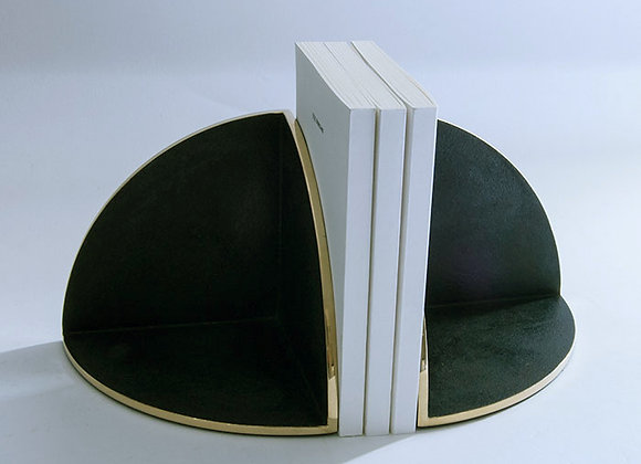 Japanese Blackened Bronze Bookend