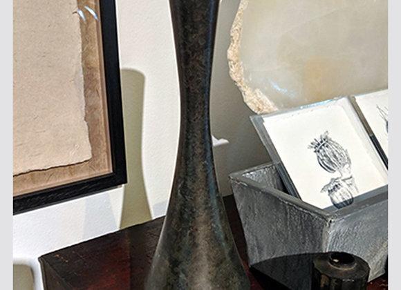 Nousaku Blackened Bronze Vase