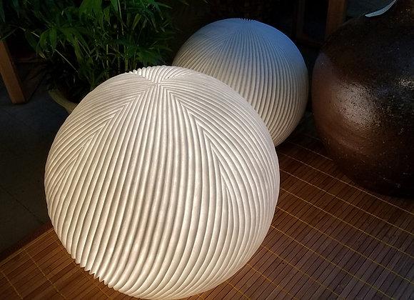 Sandstone Globe Table Lamp