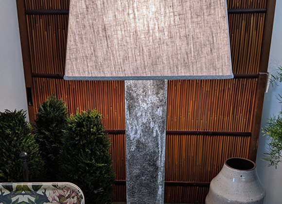 Oxidized Steel Table Lamp