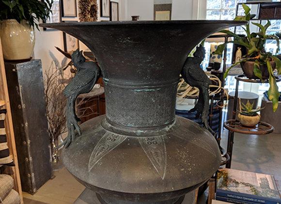Edo Period Bronze Hanaire