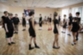 Мастер-класс по ирландским танцам в Одессе.
