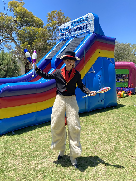 Acrobatic Juggling Variety Act, Cameo Rascale provide entertainment for any event!
