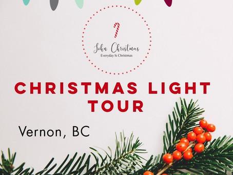Christmas Light Tour 2019, Vernon, BC