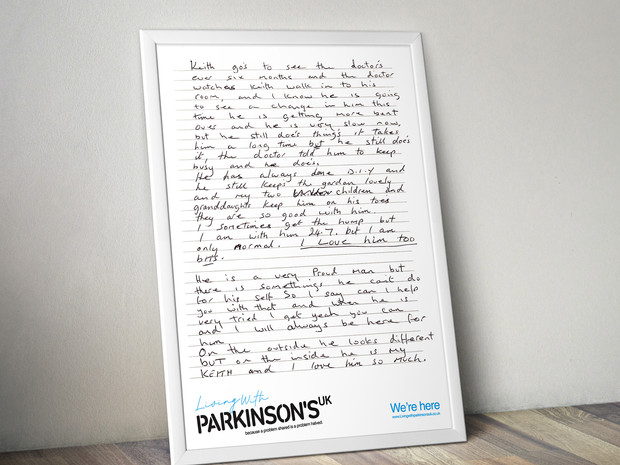 Living With Parkinsons - series.