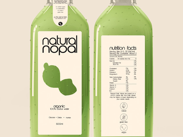 Natural Nopal - Cactus Water.