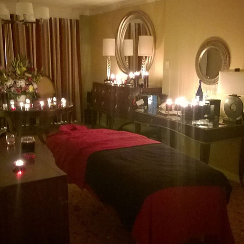 2Hour Romance Couple's Reiki and Massage