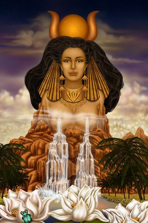 Reiki with Hathor