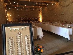 Wedding festoon and uplighter hire, wedding lighting hire, Cambridgeshire, East Anglia, UK