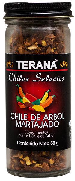CHILE DE ÁRBOL MARTAJADO