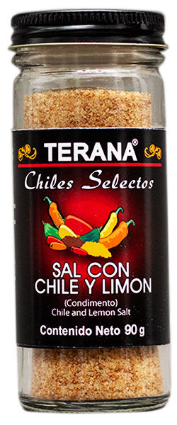 SAL CON CHILE Y LIMÓN