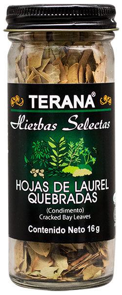 HOJAS DE LAUREL QUEBRADAS