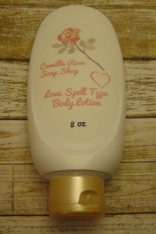 Love Spell Type Body Lotion 8 oz