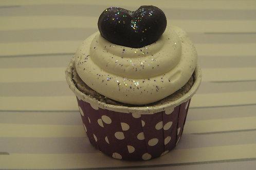 Mini Blackberry Bath Bomb Cupcake