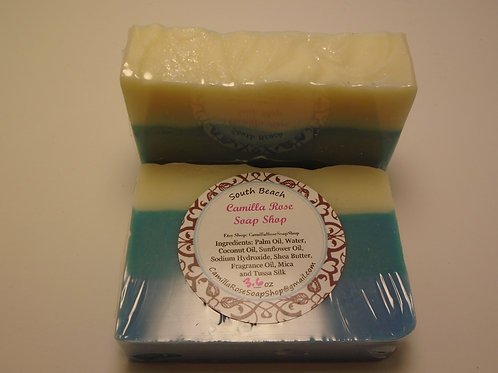 South Beach Cold Process Soap
