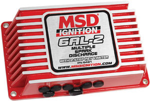 PARTS COUNTER: MSD-6AL-2 Ignition Control