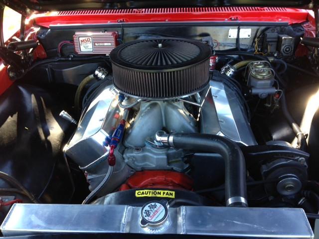 908motormag.com 1966 Chevrolet Chevelle Engine