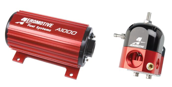 PARTS COUNTER: Aeromotive Fuel Pump & Bypass Regulator