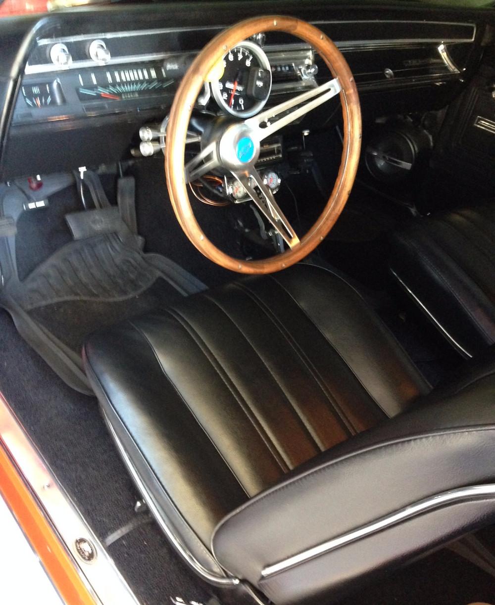 908motormag.com 1966 Chevrolet Chevelle Interior