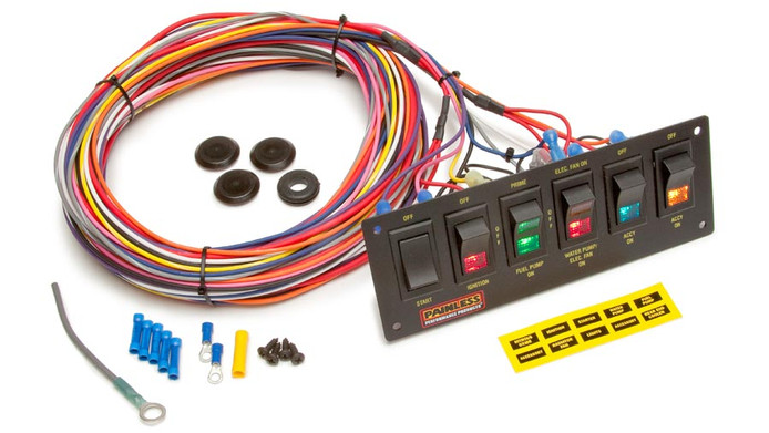 PARTS COUNTER: Painless Performance Switch Panel #50406