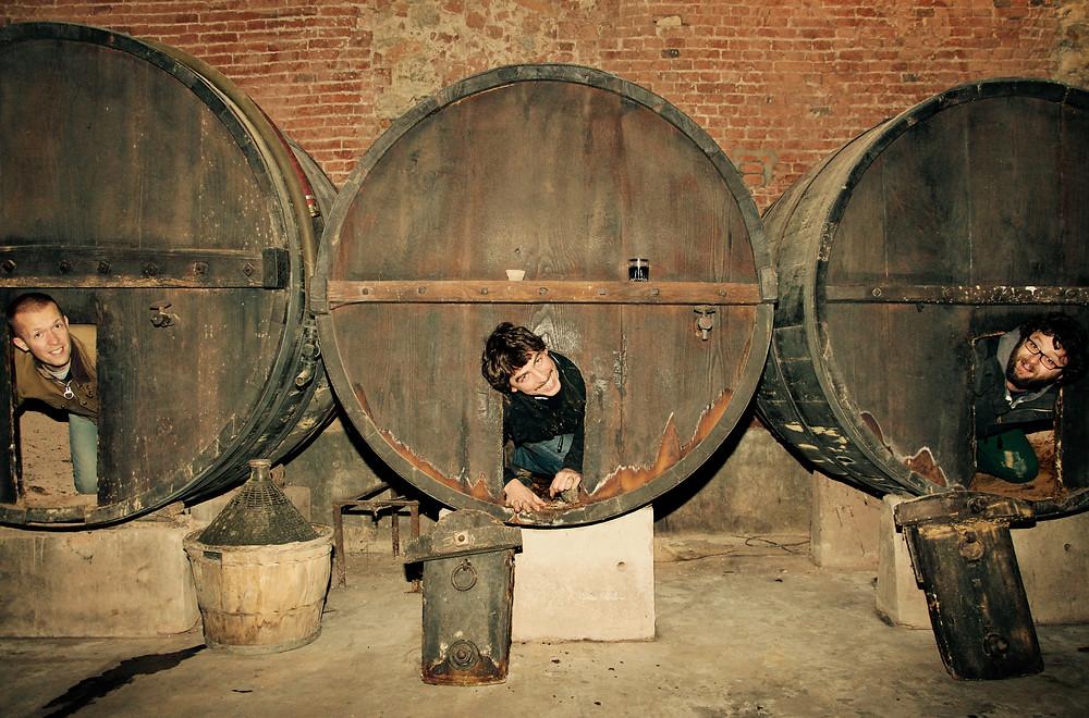 Rob, Lorenzon & Andrea - 3 partners in Wine