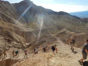 Frisbees Soar Over Dunes at Death Valley
