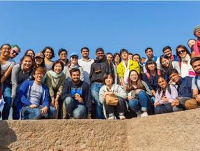 Culture and Outreach, Green Hair and Grins: IndiaKi Khoj (In Seach of India)Trip