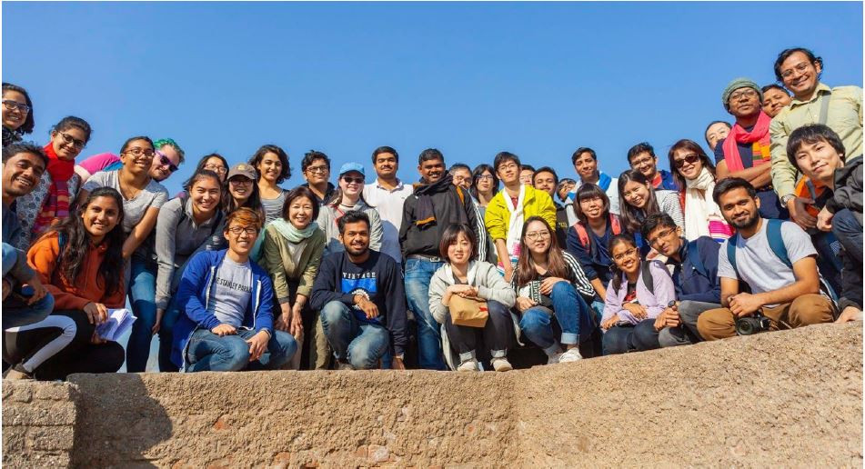Students from Caltech, India Institute of Technology Gandhinagar (IITGN) and the Japan Advanced Institute of Science and Technology (JAIST).