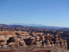 Y Hikers Find Beauty and Awe in Canyonlands