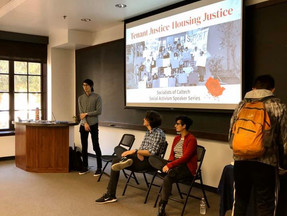 Student Activism Speaker Series Explores Housing and Policy
