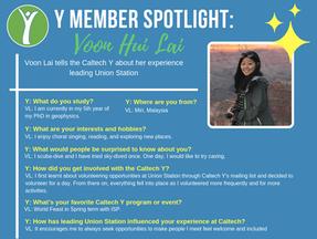 Caltech Y Student Spotlight - Voon Hui Lai