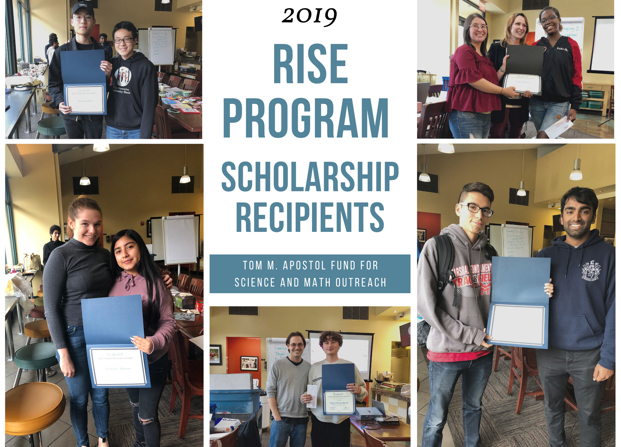 Rise Program Scholarship Winners