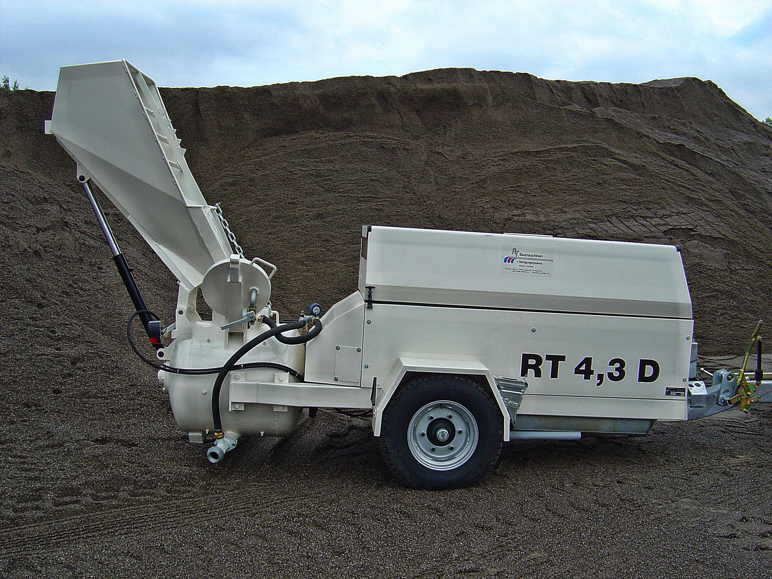 Unterlagsbodenpumpe (Diesel)